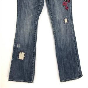 Lilu Jeans - 🔆Lilu Embroidered Distressed Jeans Boot Cut ▪️0